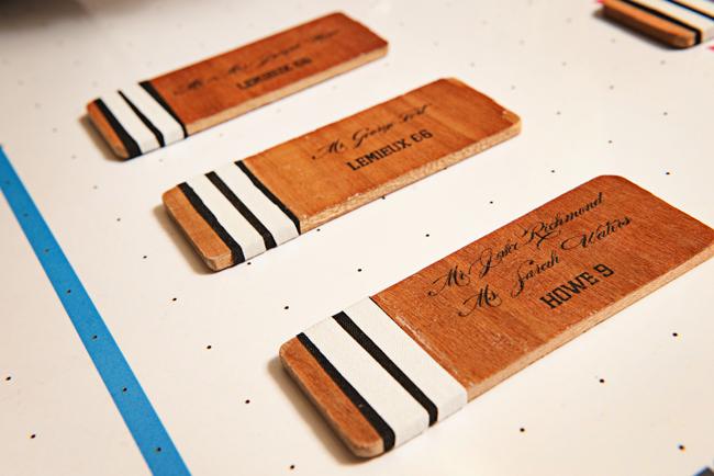 Hockey Inspired Wedding Ideas Elizabeth Anne Designs The Blog