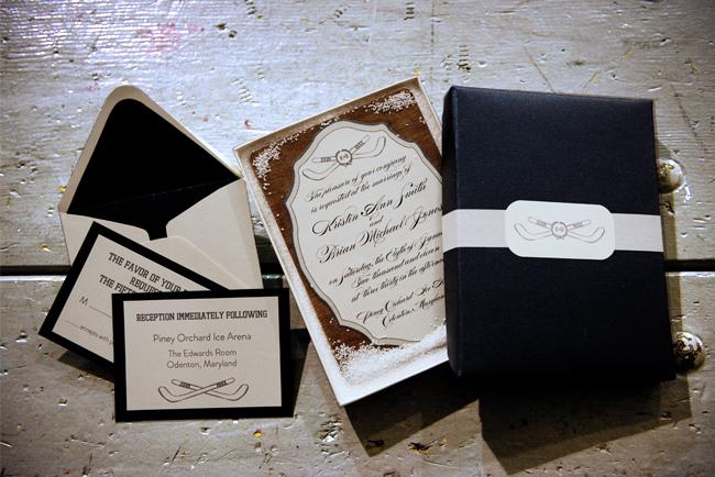 Hockey Inspired Wedding Ideas Elizabeth Anne Designs The Wedding Blog