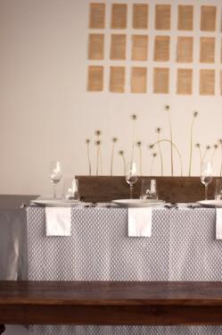 Modern Brown and Gray Wedding