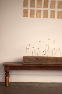 Modern Loft Wedding Sparse Wood Decor