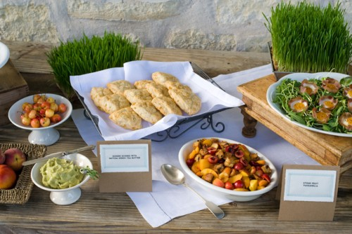 Outdoor Food Station