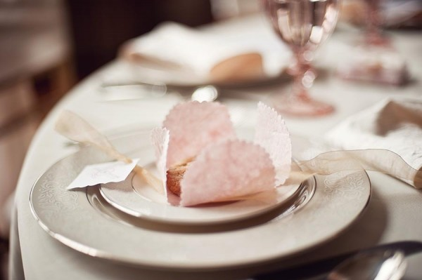 Paper Cookie Wrapper Wedding Favor