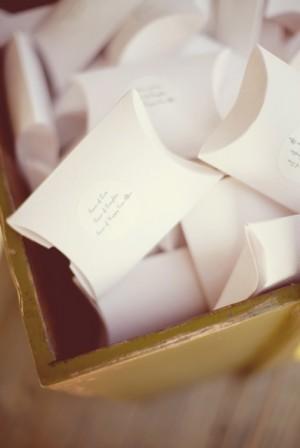 Pillow Box Favors