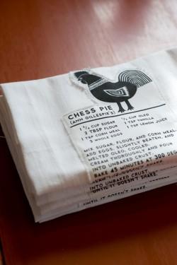 Recipe Tea Towels