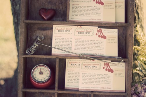 Recipe Wedding Favors-2