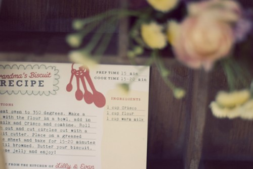 Recipe Wedding Favors-3