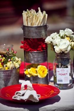 Red Farm Wedding Ideas