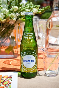 Retro Ginger Ale Bottle