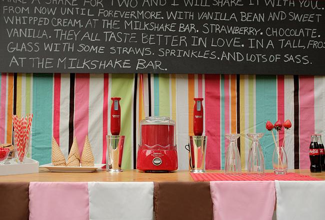 Retro Milkshake Bar Unique Wedding Ideas - Elizabeth Anne Designs ...