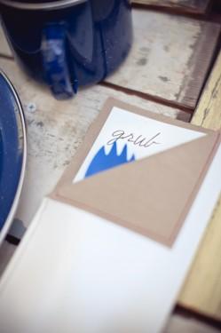 Rustic Camping Theme Wedding Ideas Sleeping Bag Menu