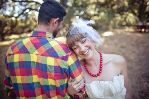 Rustic Woodsy Outdoor Camping Wedding Ideas-04