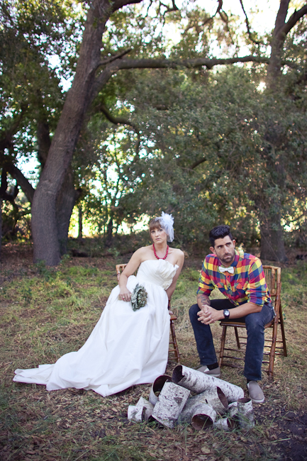 Rustic Woodsy Outdoor Camping Wedding Ideas 14