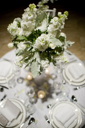 Tall-Green-and-White-Centerpiece