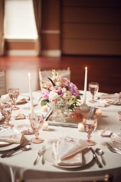 Vintage Pink Wedding Ideas