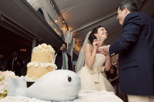 Whale Grooms Cake