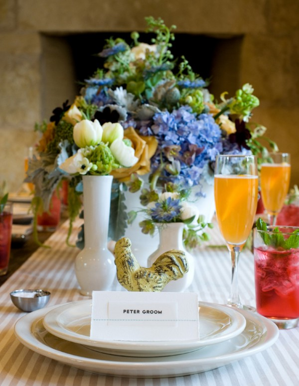 White-Stoneware-and-Porcelain-Brunch-Table