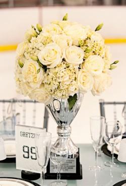 Winter Sports Theme Wedding Ideas
