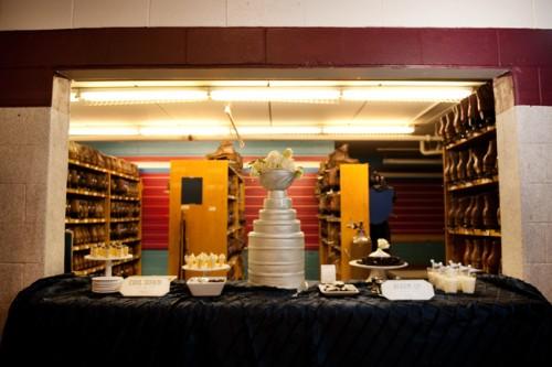 Winter Wedding Sweets Table-1