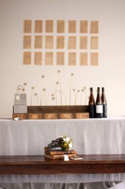 Yellow Gray and Brown Wedding