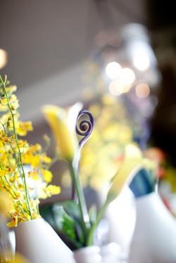 Yellow Tulip Centerpiece