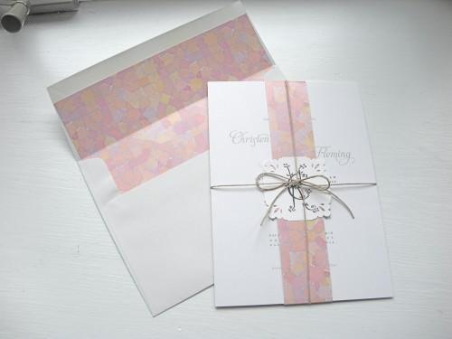 wedding invitation liner