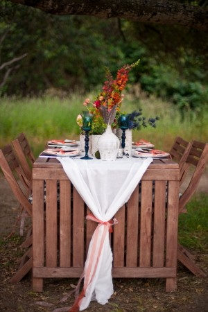 Al Fresco Table Wedding Ideas