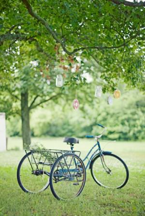 Bicycle Wedding Decor