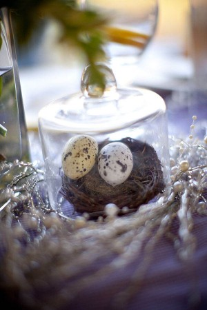 Birds Nest Wedding Decor
