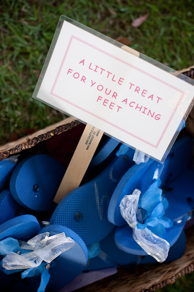6fc411d5cb69 Blue Flip Flop Wedding Favors - Elizabeth Anne Designs  The Wedding Blog