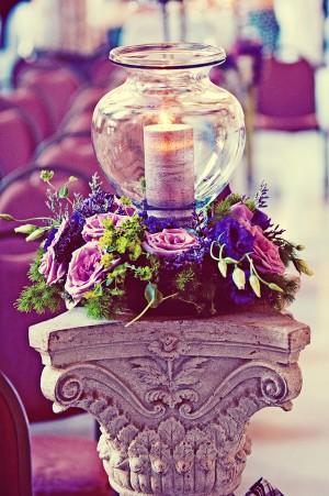 Blue-and-Purple-Flowers-Altar-Pillar