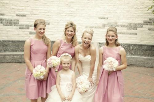 Bubblegum Pink Bridal Party
