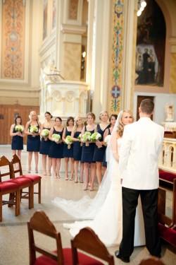bridesmaids catholic wedding