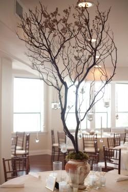 Cherry Blossom Branch Centerpiece