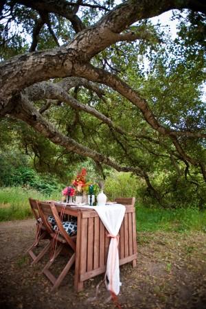 Colorful Garden Wedding Table