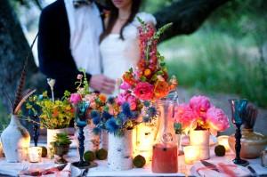 Colorful Vibrant Bright Centerpiece