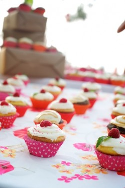Cupcakes Heart Wrappers