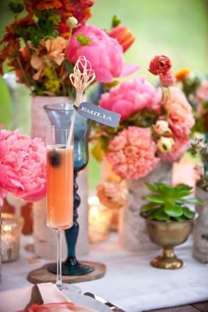 Elegant Peony and Poppy Centerpiece