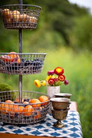 Fresh Fruit Display Wedding Ideas