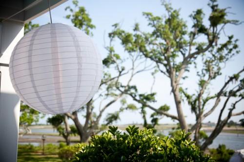 Hanging White Paper Lantern