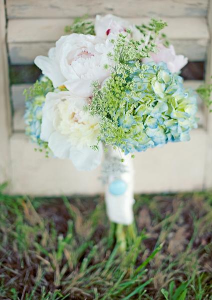 Hydrangea and Peony Bouquet - Elizabeth Anne Designs: The Wedding Blog