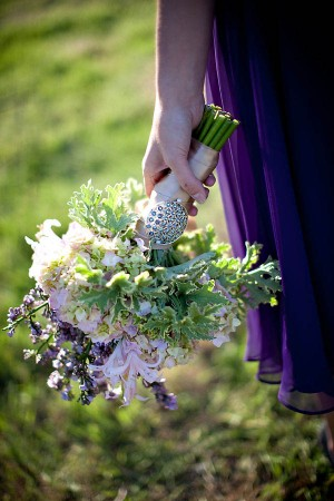 Lavender and Green Bouquet