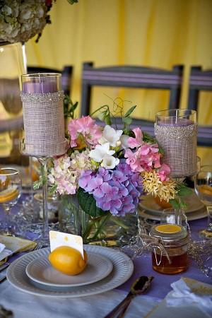 Lemon and Lavender Wedding Ideas