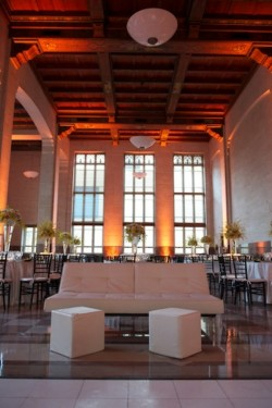 Lounge Seating Albert Dupont Building Wedding Reception