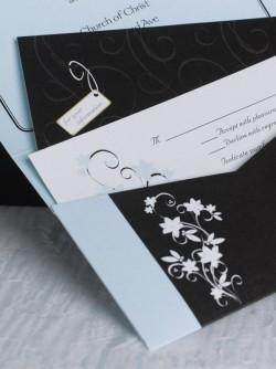 MagnetStreet Weddings Pocket Invitation