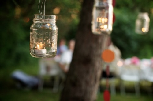 Mason Jar Tealights