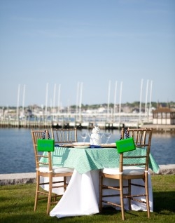 Newport RI Blue and Green Rehearsal Dinner Couture Parties-09