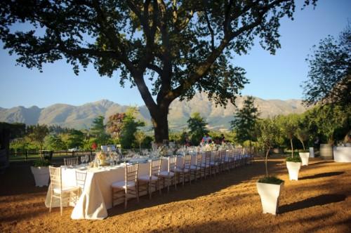 Outdoor Wedding Estate Table