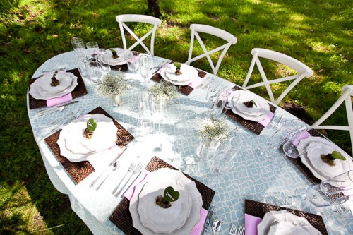 Oval Wedding Tabletop