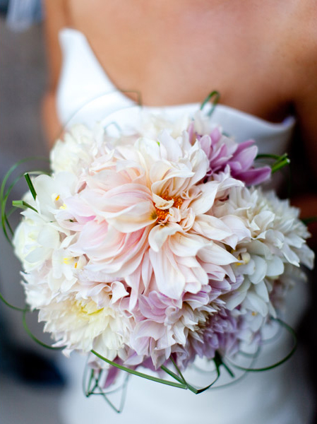 Pale Pink and Lavender Bouquet