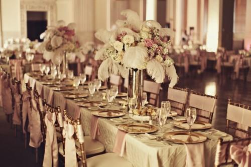 Pink Ballroom Reception